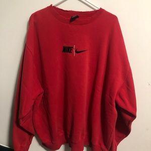 Vintage 90s Nike Team Crewneck size xxl